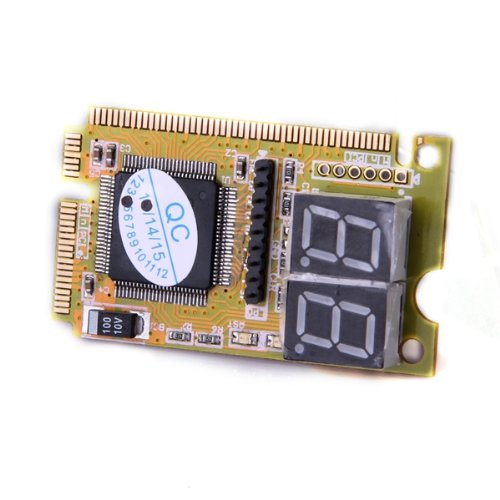 Image 2 - PROMOTION! Diagnostic Post Card USB Mini PCI E PCI LPC PC Analyzer Tester-in Add On Cards from Computer & Office