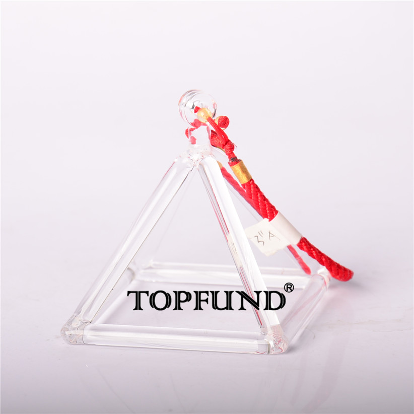 TOPFUND Quartz Crystal Singing Pyramid 10'' - Perfect Healing Musical Instrument-local shipping 10 and 12 2pcs chakra white frosted quartz crystal singing bowl 432hz