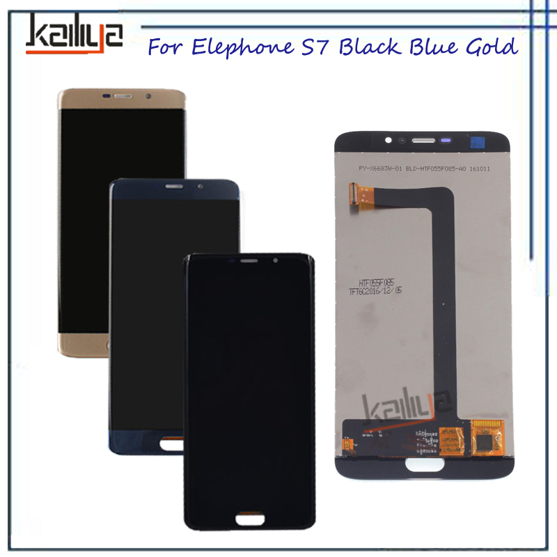 For Elephone S7 LCD Display +Touch Screen Digitizer Assembly Black Blue Gold 5.5 inch For Elephone S7 Mobile Phone lcds