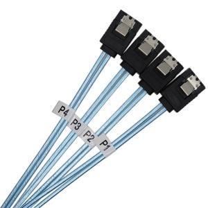 Image 3 - Gratis Verzending Hoge Snelheid 6Gbps 4 Stks/set Sata Kabel Sas Kabel Hoge Kwaliteit Voor Server 0.5M 1M 2017 Hot Product