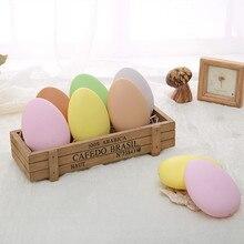 50 шт. пасхальные яйца инструменты для яиц DIY Ручная роспись 9 см плоский тип яйцо
