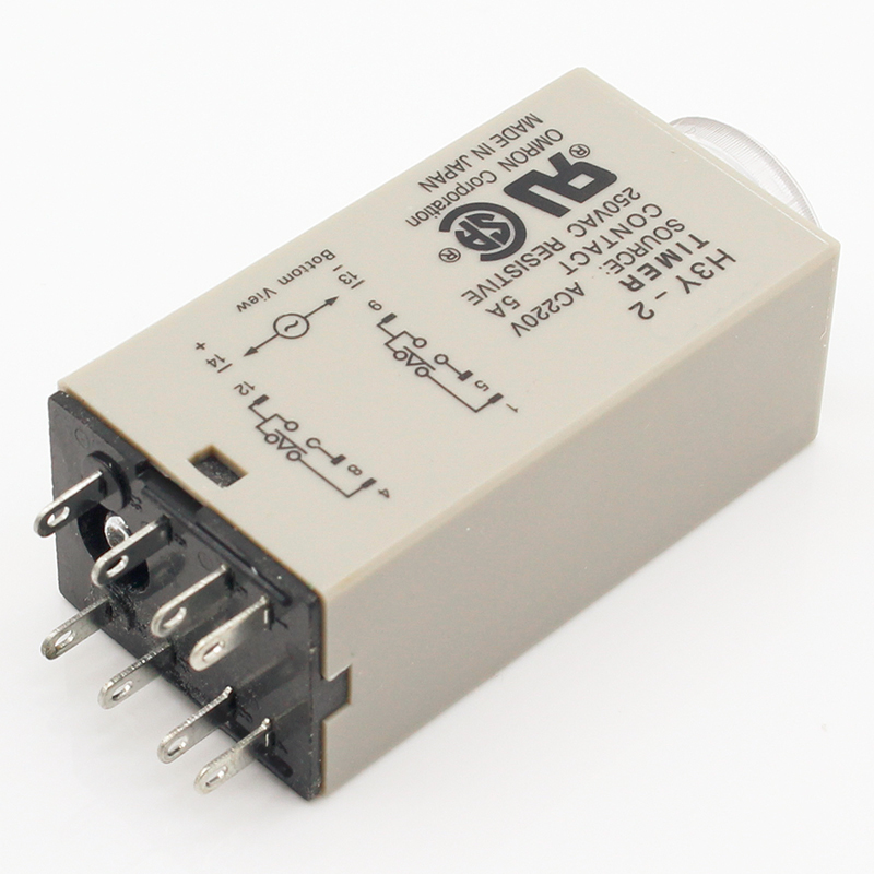 US $2 7 |1pcs H3Y 2 AC 220V Delay Timer Time Relay 0 30 Minute/Seconds with  Base-in Relays from Home Improvement on Aliexpress com | Alibaba Group