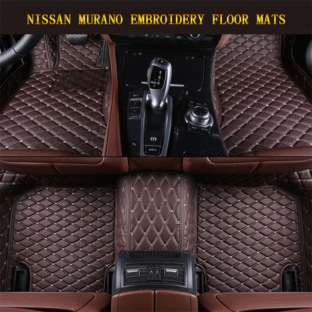 Car Floor Mats For Nissan Murano 2015 2017 Foot Carpets Pad Mat Step  Embroidery Leather