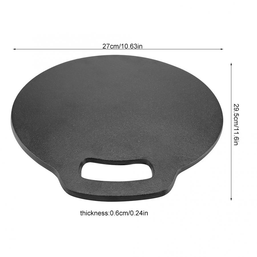 Пиццы камень выпечки Кондитерские инструменты 1 шт. чугун анти-скальдинг Pizzas лопатка из дуба ручка лопатка для торта кухонные аксессуары