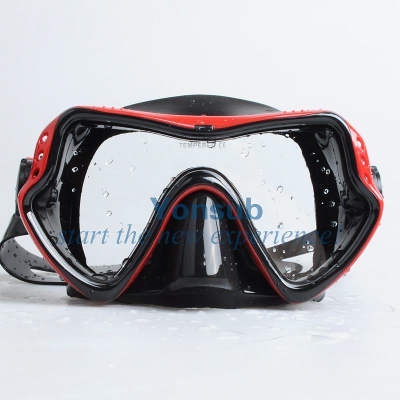 moda Hight Quality Scuba Diving Snorkeling Silikon Maska - Su idmanı - Fotoqrafiya 4