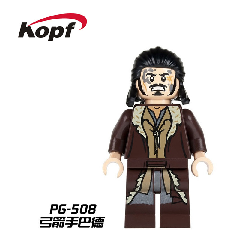 Single Sale Super Heroes Lord of the Rings Bard the Bowman Aragorn Rohan Archer Bricks Building Blocks Toys for children PG508 ...