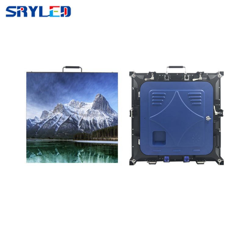 HD indoor rental led display screen/SMD P3 die casting led video wall panel 576mmx576mm