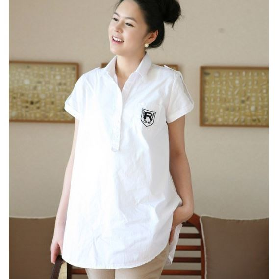 Maternity Shirt Cotton Clothing for preg