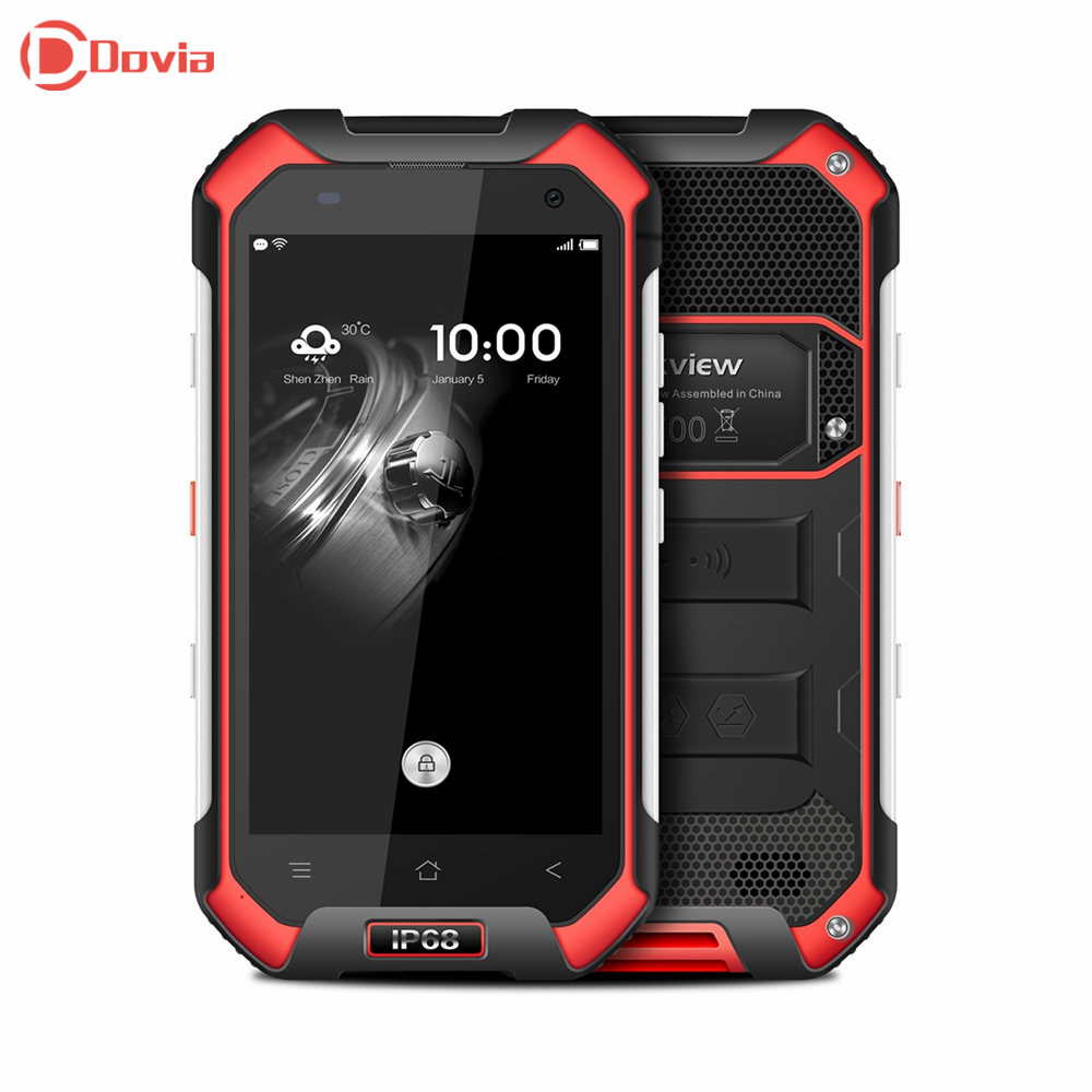 IP68 Waterproof Shockproof Blackview BV6000 4 7inch 4G Phone MTK6755 Octa Core 3GB 32GB 5MP 13MP