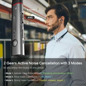 Image 2 - 1 יותר E1004BA כפולה נהג BT ANC ב אוזן אוזניות אלחוטי Bluetooth אוזניות עם פעיל רעש ביטול, ENC, טעינה מהירה