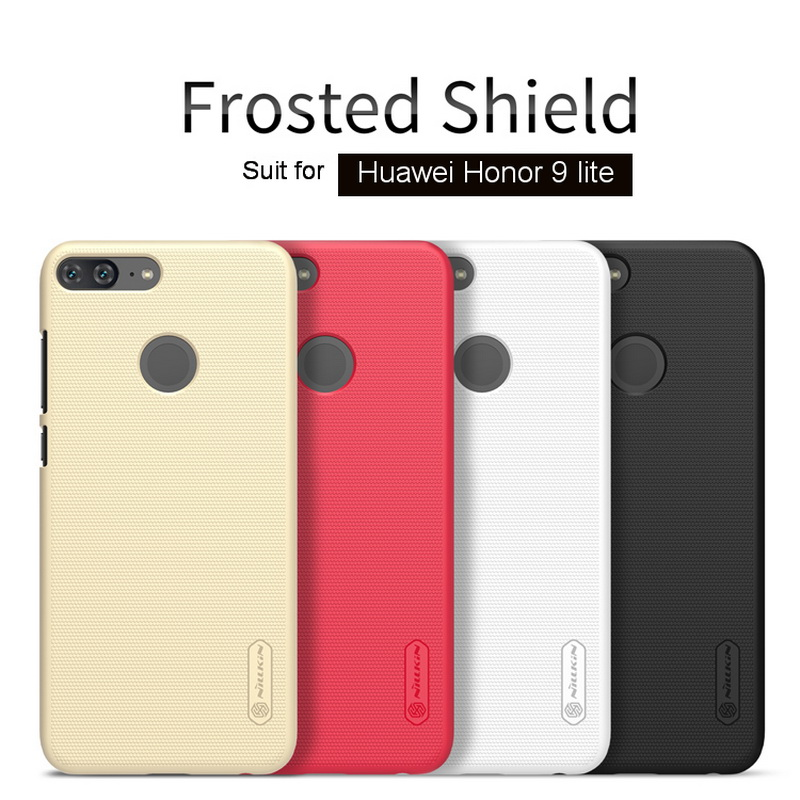 For Huawei <font><b>Honor</b></font> <font><b>9</b></font> <font><b>lite</b></font> Case with Screen protector <font><b>Nillkin</b></font> frosted shield pc hard phone shell plastic back cover for Honor9 <font><b>lite</b></font> image