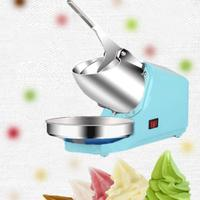 Household Electric Ice Crusher Ice Shaver Machine DIY Ice Cream Cold Drinks Fruit Dessert Maker Ice Cream Machine Kitchen Tools