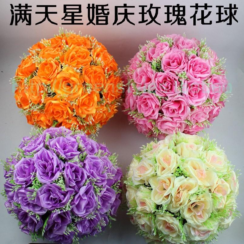 boda suministros cm rose flores bola decoracin de la boda centros de mesa florales