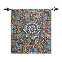 high quality Belgian wall hanging tapestry Blue Goryeo Art Nouveau Mandalay Mandala Pendant painting Cloth home fabric Sunrise