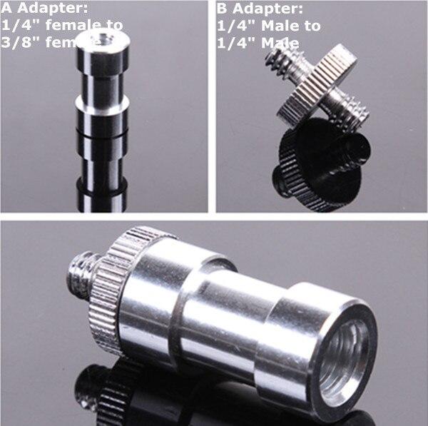 """FOTGA 1/4 """"do 3/8"""" śruba + 3/8 """"czop stadniny złącze Adapter f statyw kamery wsparcie sprzedaży hurtowej!"""