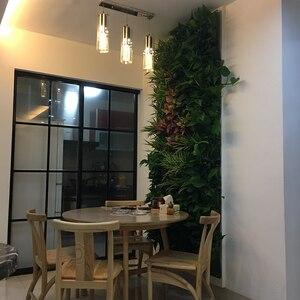 Image 5 - Sacchetti per piantare appesi a parete 3/9/18/49/72 tasche Green Grow Bag fioriera verticale giardino verdura Living Garden Bag forniture per la casa