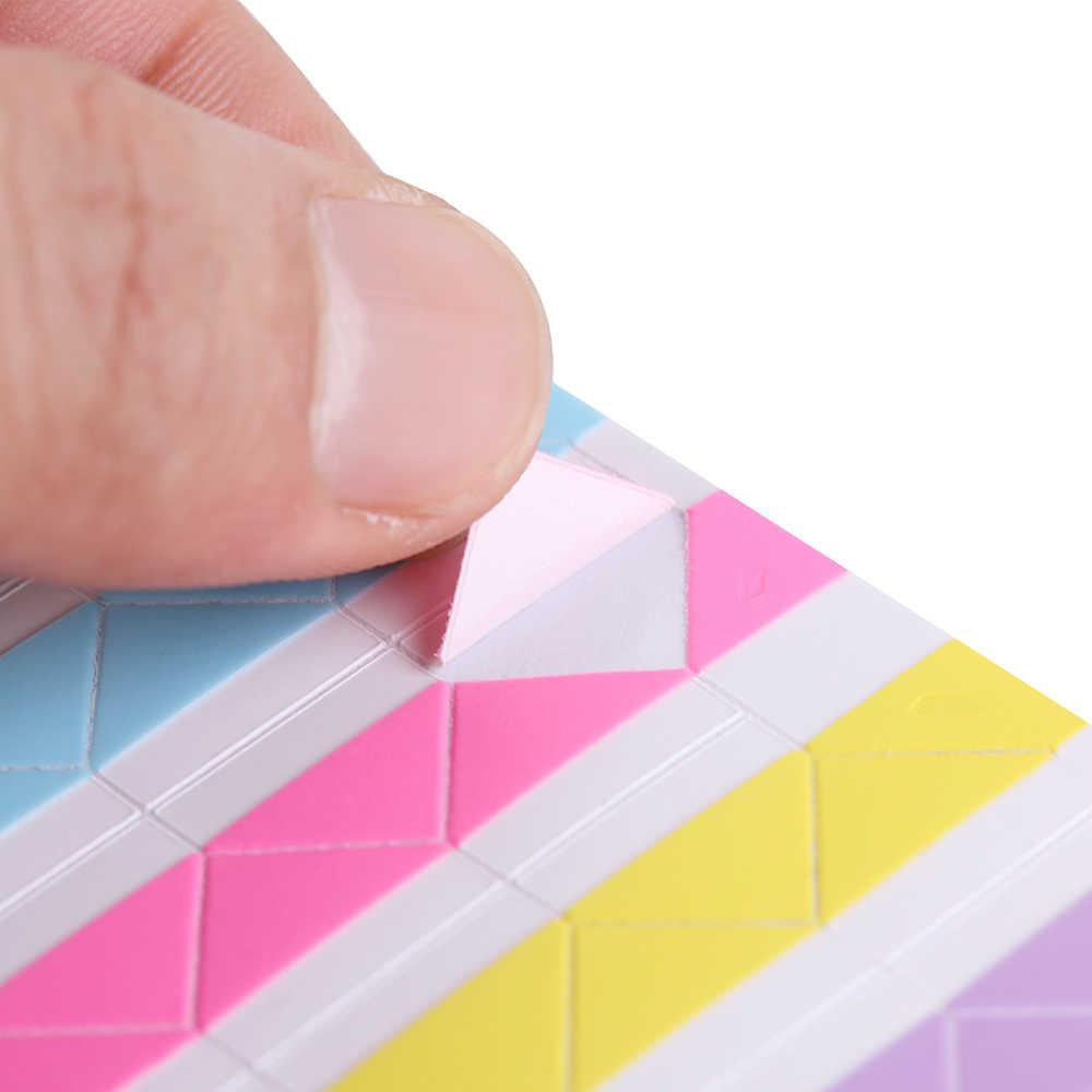 102 PCS/גיליון חדש DIY צבעוני תמונה פינת Scrapbook נייר אלבומים תמונות מסגרת תמונה האופנה קישוט PVC מדבקות