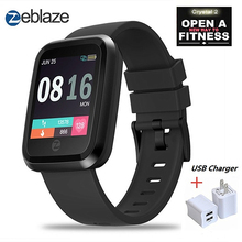 Zeblaze Crystal 2 Smart Watch Men IP67 Waterproof Wearable Device Heart Rate Monitor Color Display Smartwatch For Android IOS