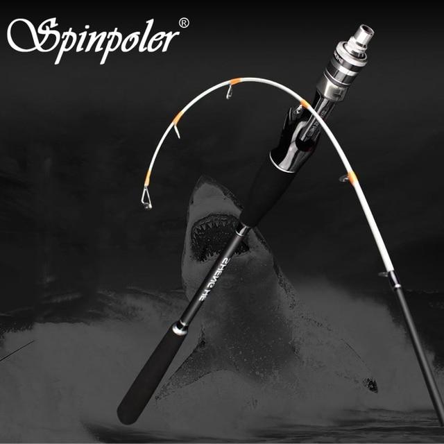 Spinpoler New Light Saltwater Boat Squid Raft Fishing Rod 1.6M Raft Rod Black Bream Soft Tip Ultra-Soft Casting Fishing Rod