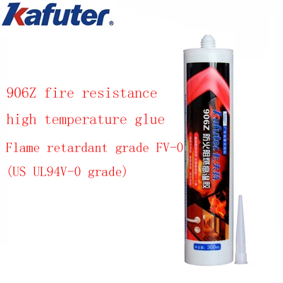 kafuter 906Z fire retardant high temperature adhesive fire door ventilation pipe flame retardant sealant 300ml