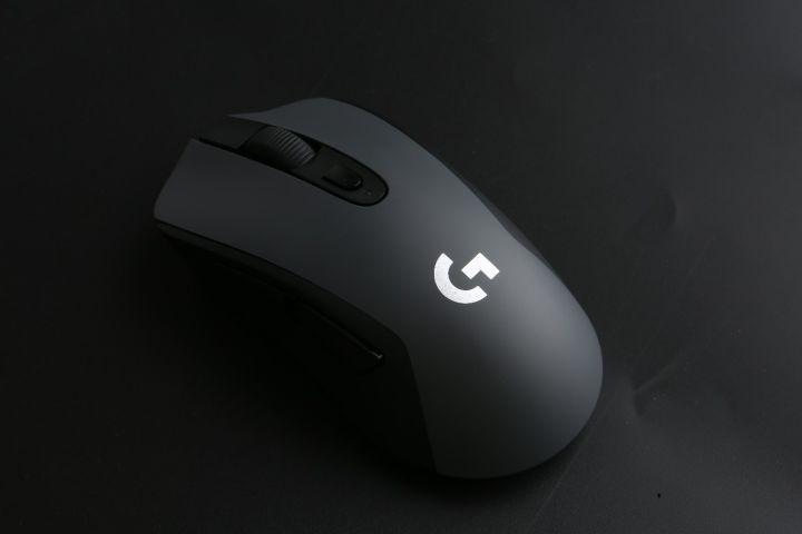 Logitech G603 LIGHTSPEED bluetooth sans fil Gaming Mouse, 12,000 DPI capteur optique Ergonomique Sans Fil jeu d'ordinateur Souris - 5