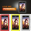 LOVE MEI Armor Doom Shockproof Life Waterproof Aluminum Alloy Metal Tempered Glass Cover Case For Sony