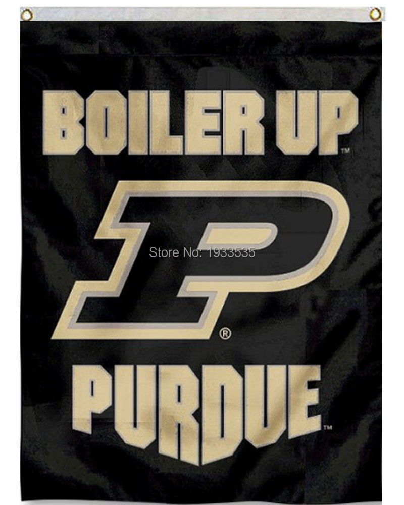 Color printing purdue - Purdue Boiler Up Logo House Vertical College Banner 3x5ft Garden Flag China Mainland