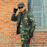 Camouflage Suit Sets Army Military Uniform Outdoor Men CS Combat Hunting Clothes Set Military Jacket Pants