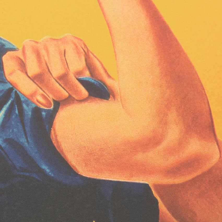 Kravat LER yapabiliriz Kraft kağıt süsleme film afişleri Vintage Poster süsleme ev dekorasyon duvar çıkartmaları
