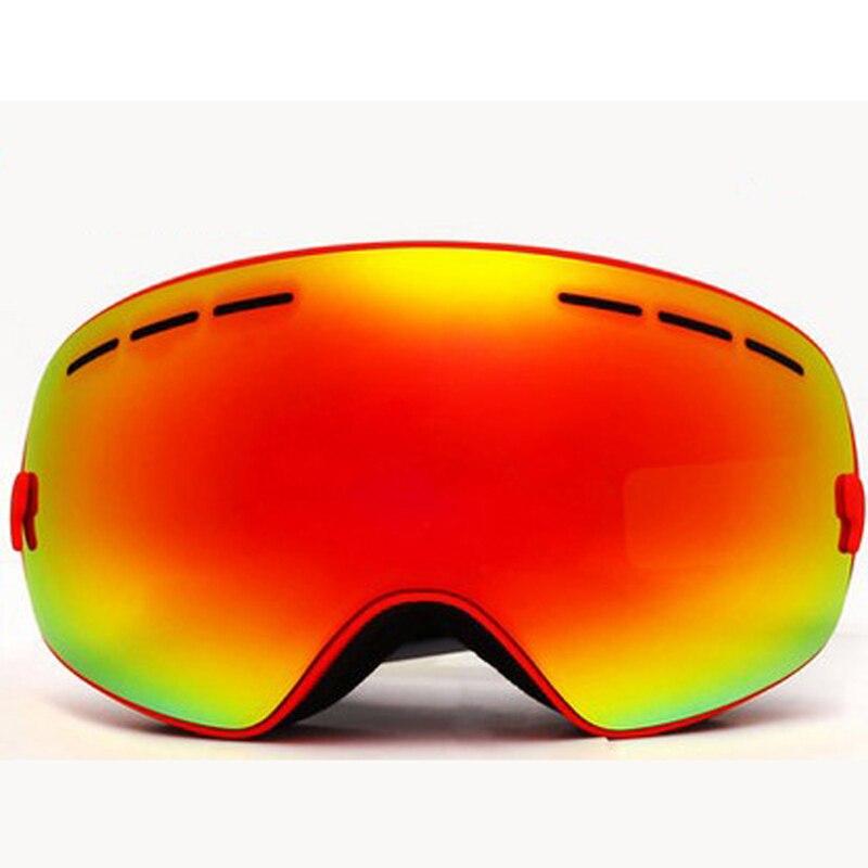 Зима Новый лыжные очки Открытый путешествие высокое качество безопасности Анти-ветер анти-излучения очки вызовом теплый Открытый предметы первой необходимости