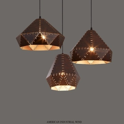 цены  Loft Style Creative Iron LED Pendant Light Fixtures Industrial Vintage Lighting For Dining Room Hanging Lamp Retro Droplight
