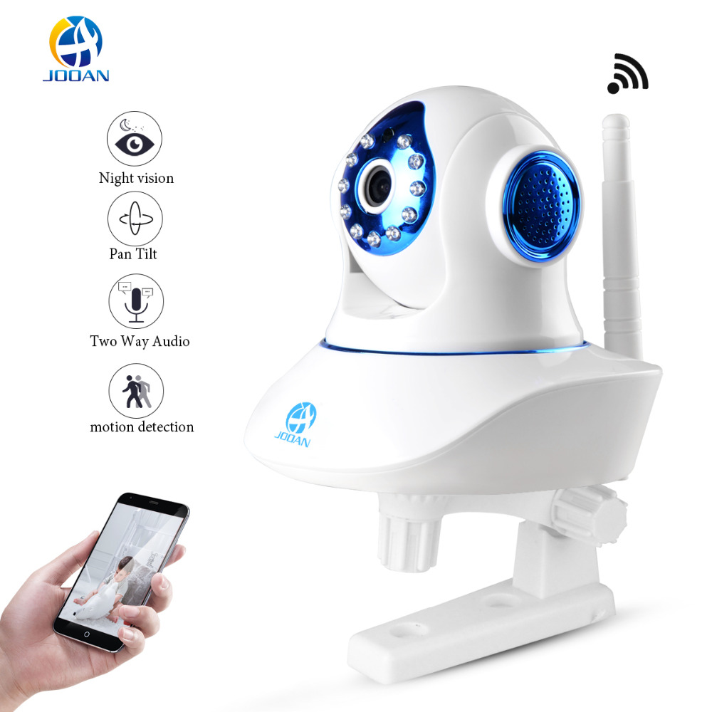 JOOAN Wireless Pan Tilt Security Network CCTV IP Camera NightVision WIFI Webcam Ptz Indoor Home Camera