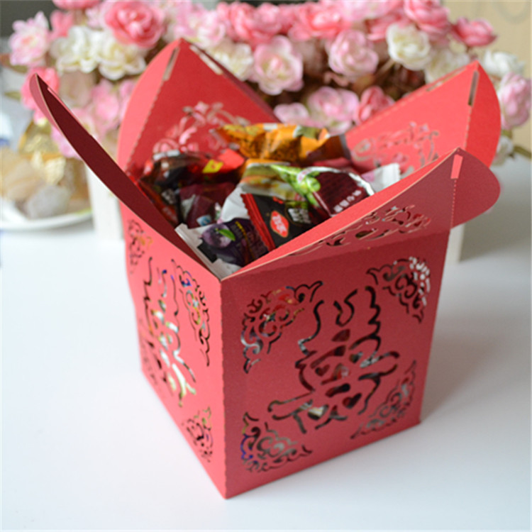 Chinese New Year Decorations Made In China Double Happiness Favor Boxes Chinese New Year Return