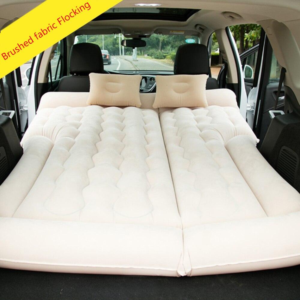 Tapis de Camping en plein Air lit de voyage tapis étanche à l'humidité SUV voiture auto-conduite Tours matelas gonflable tapis gonflable avec pompe à Air