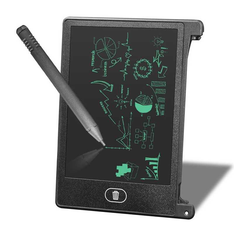 4.4 inch LCD Digitale Tablet Tekening Notepad Board Elektronische Handschrift Schilderen Tablet Office Notebook Voor Schrijver Kinderen