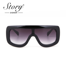 STORY fashion oversized shield Sunglasses women 2019 brand d