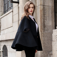 Women Wool Coat Winter Coats For Female short Coat Office Lady Handmade Double sided Cashmere Clothes Women's Cloak Coat