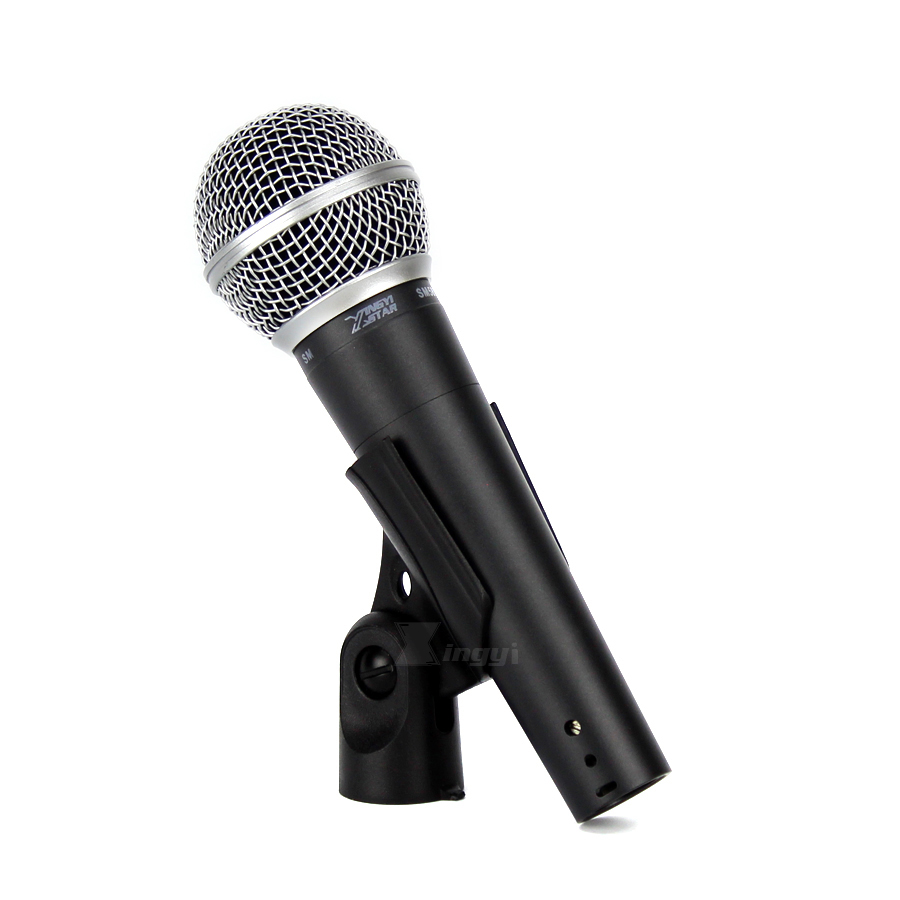 2Pcs SM58S Wired Dynamic Microphone Professional Handheld Mic For SM58LC Video Studio Singing Karaoke DJ Mixer Audio Conference