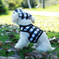 TAILUP Spring Summer Pet Dress Clothess With Hat Pet Male Dog Sports Clothes Teddy Cap Dogs Suitable Pet Cat Clothes TMPC013