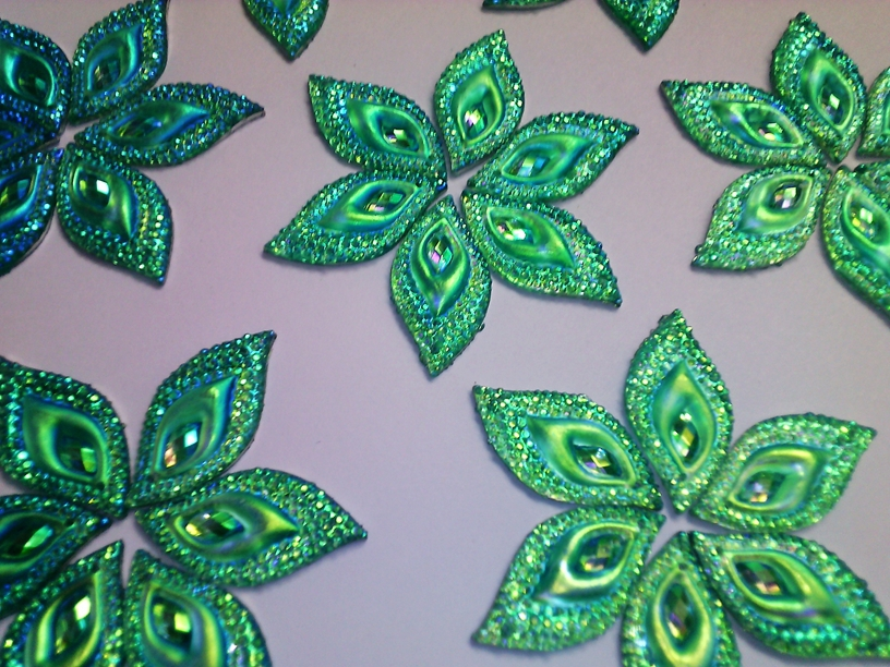 Green AB colour eye navette shape 16*30mm sew on Resin crystal Rhinestones Stones Accessores Loose Beads 60pcs/lot