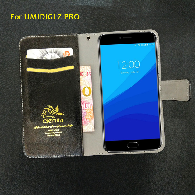 TOP New! UMIDIGI Z PRO Case 5 Colors Flip Luxury Leather Case Fashion Exclusive Phone Cover Credit Card Holder Wallet+Tracking