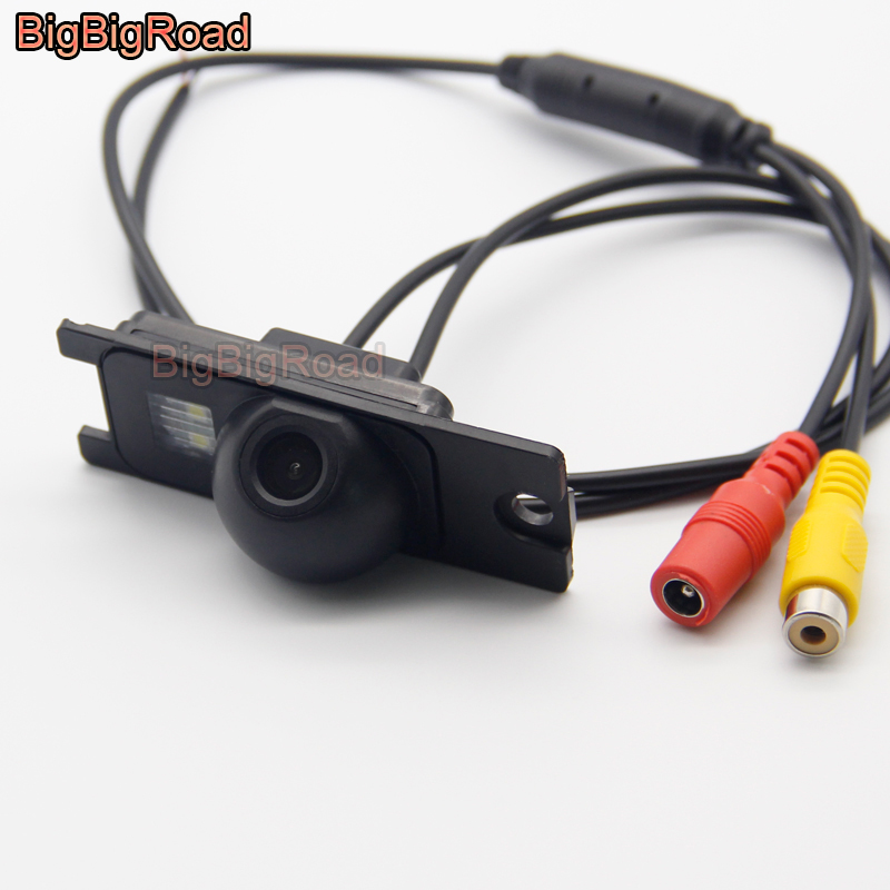 BigBigRoad For Volvo S80 S60 S60L XC60 XC90 V70 XC70 1999- 2007 2008 2009 Car Rear View Reverse Backup CCD Camera Night Vision