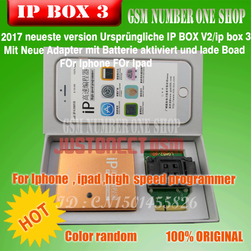 Ipbox IP BOX3 Ip High  For Phone Pad Hard Disk Programmers4s 5 5c 5s 6 6plus Memory Upgrade Tools 16g To128gb