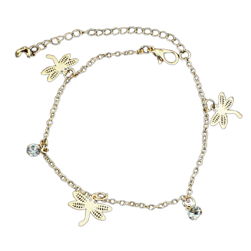 Ladies Girls Silver Star Anklet Ankle Bracelet Chain Adjustable Uk Seller Buy One Get One Free Jewelry & Watches