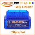 20PCS DHL Free 2016 V2.1 Super Mini ELM327 Bluetooth Interface Works On Android Torque Elm 327 OBD2 OBD II Car Diagnostic Tool