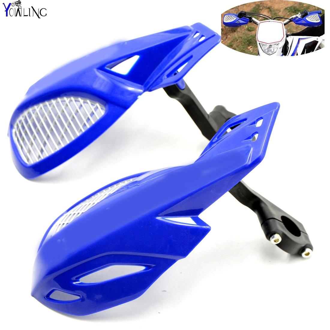 Dirt bike Motorcycle 7/8''22mm handlebar brake hand guard For YAMAHA YZ250X YZ426F YZ450F YZ450FX YZ80 YZ85 dirt bike motorcycle 7 8 22mm handlebar brake hand guard for yamaha yz250x yz426f yz450f yz450fx yz80 yz85