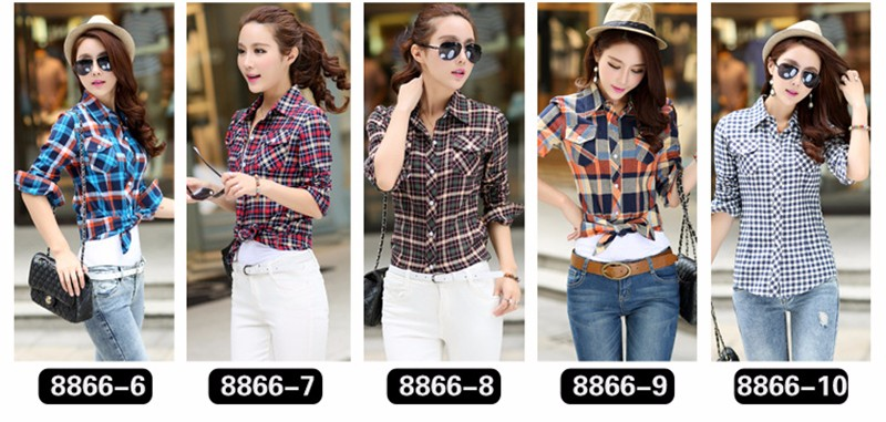 checked blouse 02