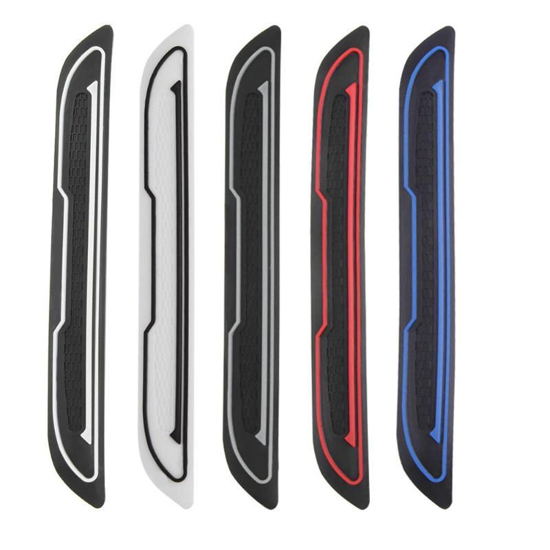 4pcs Car Door Edge Guard Strip Anti-collision Sticker Universal Auto Scratch Protector Car Door Side Mirror Anti-collision Glue