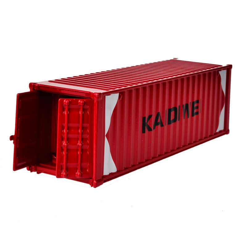BOHS  Alloy  Oceangoing Ship Freighter Boat Container Model Six Optional Colors Ornaments Collectible Toys