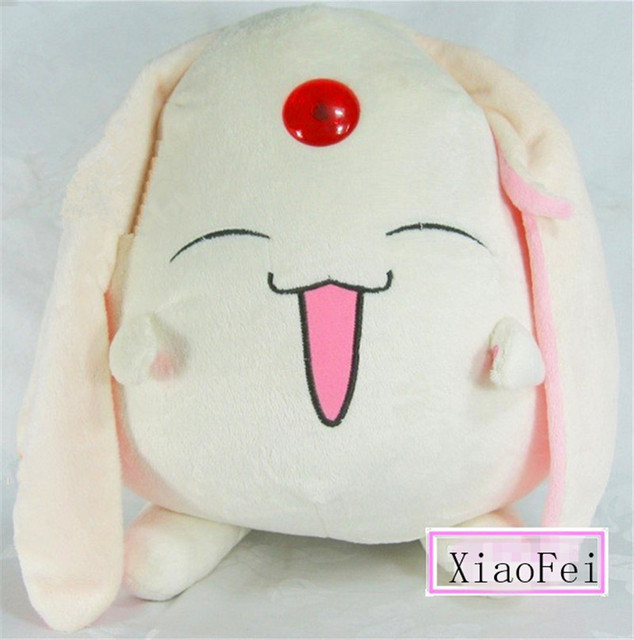 CARDCAPTOR SAKUR Holic White Mokona Plush Doll Official Funimation Cosplay Anime 30cm Soft Toy Christmas Kids